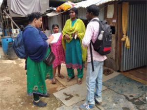 Community Survey by Samridhdhi Trust, Bangalore