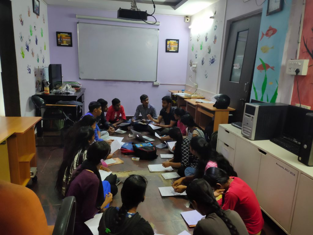 Workshop at the Finishing School | Samridhdhi Trust
