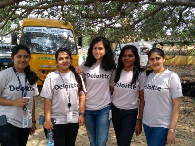 Deloitte volunteering Day celebration at ST 2018